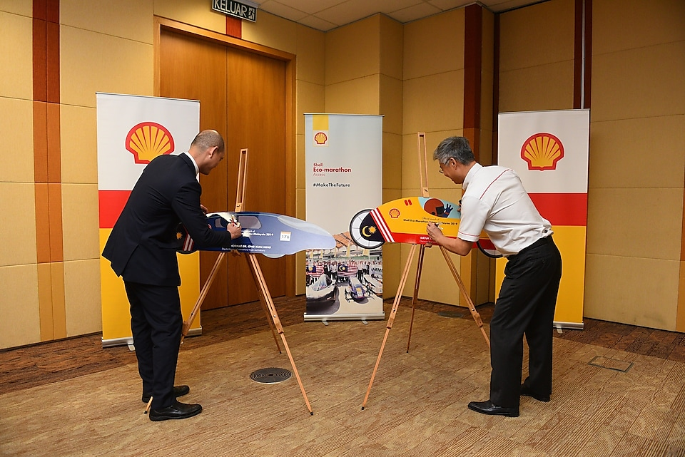 Official Launch Ceremony, YB Dr Ong Kian Ming and Chairman Shell Malaysia