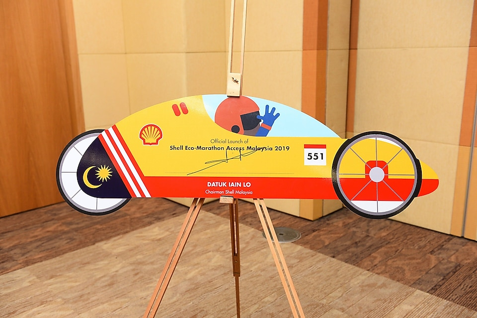 SEM Access Launch signed by Chairman Shell Malaysia