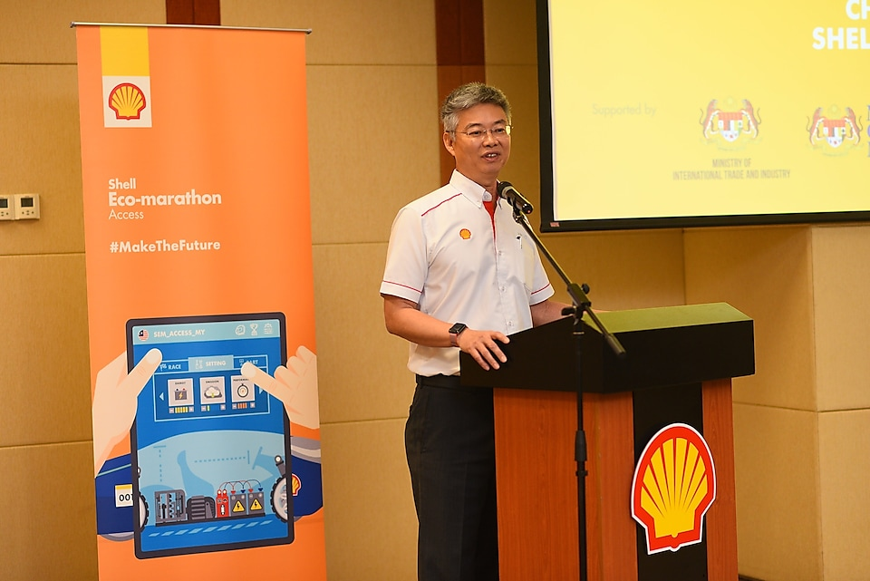 Welcoming Remarks by Chairman Shell Malaysia