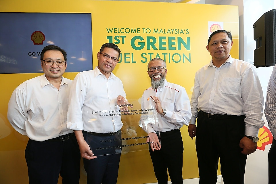 Shell Malaysia is awarded with the Green Building Index (GBI) certification.