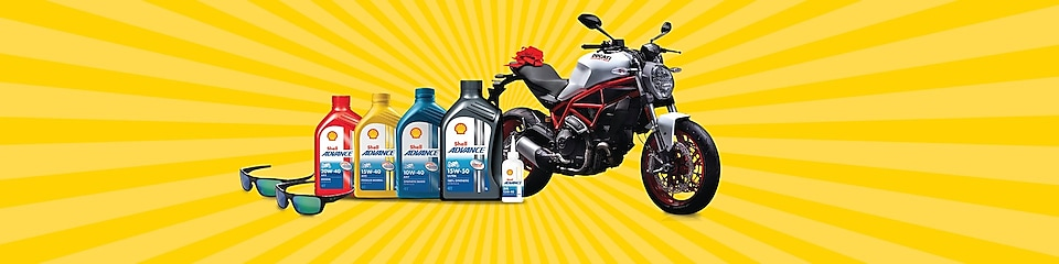 Ducati bike and lubricants