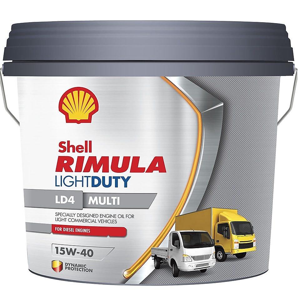 Shell Rimula Light Duty Range LD4
