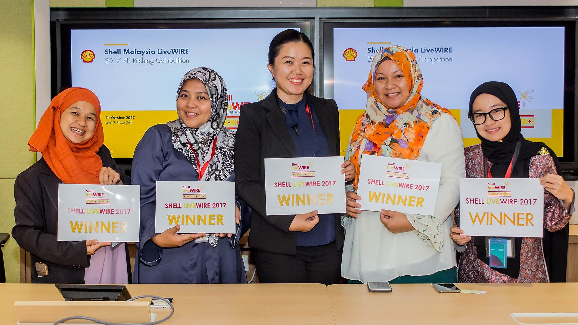 2017 Sabah Shell LiveWIRE Winners