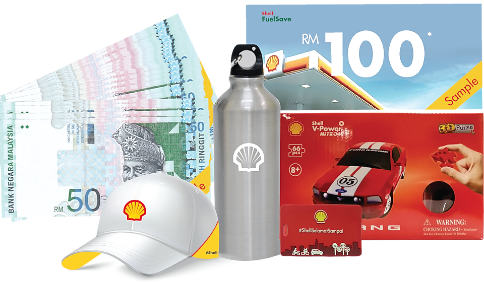 Road safety hero prizes